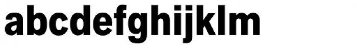 Applied Sans Condensed Black Font LOWERCASE