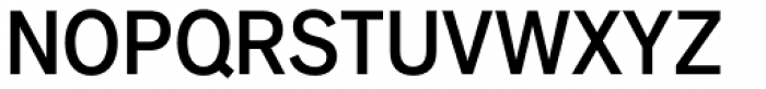 Applied Sans Condensed Medium Font UPPERCASE