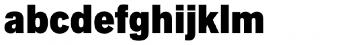 Applied Sans Condensed Ultra Black Font LOWERCASE