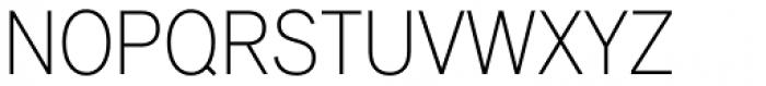 Applied Sans Condensed Ultra Light Font UPPERCASE