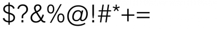 Applied Sans Light Font OTHER CHARS