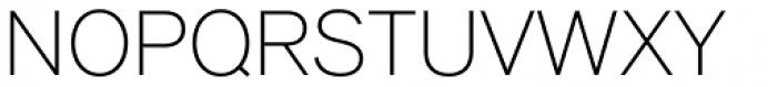 Applied Sans Ultra Light Font UPPERCASE