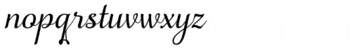 Apresia Script Regular Font LOWERCASE
