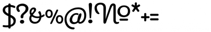 Apricot Font OTHER CHARS