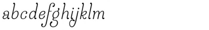 April Rain Bold Italic Font LOWERCASE
