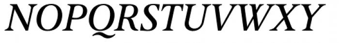 April Samuels Italic Font UPPERCASE