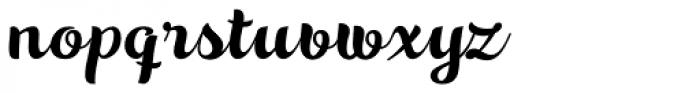 Aprilis Font LOWERCASE