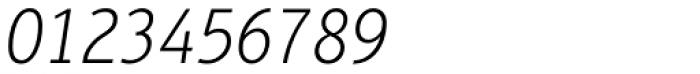Aptifer Sans Pro Thin Italic Font OTHER CHARS