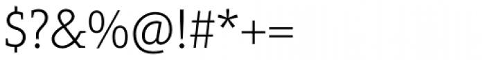 Aptifer Slab Pro Thin Font OTHER CHARS