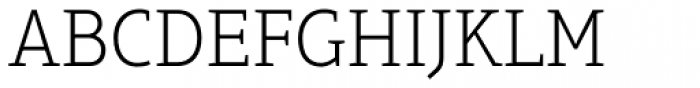 Aptifer Slab Pro Thin Font UPPERCASE