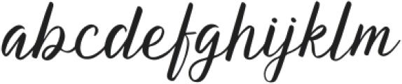 AquaLagoon-Regular otf (400) Font LOWERCASE