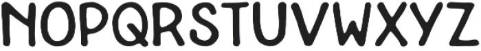 Aquabella Sans otf (400) Font UPPERCASE