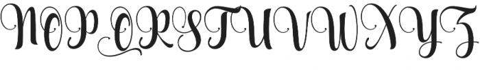 Aqualita otf (400) Font UPPERCASE