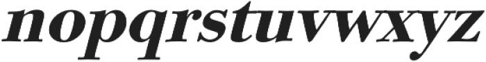 Aquatic italic otf (400) Font LOWERCASE