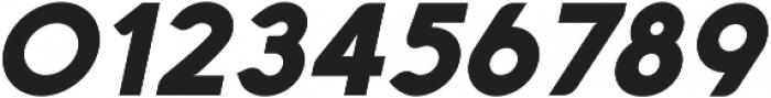 Aquawax Black Italic ttf (900) Font OTHER CHARS