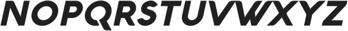 Aquawax Black Italic ttf (900) Font UPPERCASE
