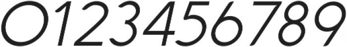 Aquawax Light Italic ttf (300) Font OTHER CHARS