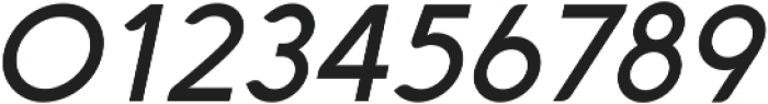 Aquawax Medium Italic ttf (500) Font OTHER CHARS