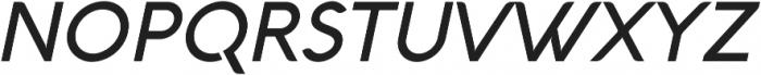 Aquawax Medium Italic ttf (500) Font UPPERCASE
