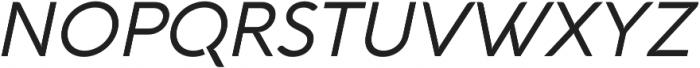 Aquawax Pro otf (400) Font UPPERCASE
