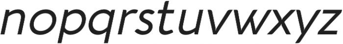 Aquawax Pro otf (400) Font LOWERCASE