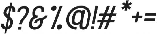 Aquilone Regular Italic otf (400) Font OTHER CHARS