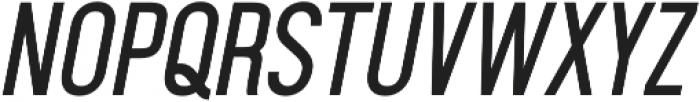Aquilone Regular Italic otf (400) Font UPPERCASE