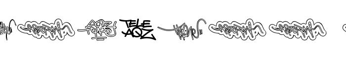 AQZ crew Font OTHER CHARS