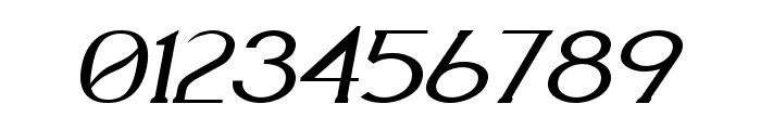 Aquaduct Italic Font OTHER CHARS