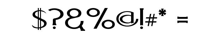 Aquaduct    Plain Font OTHER CHARS