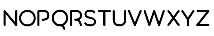 Aquatico Font UPPERCASE