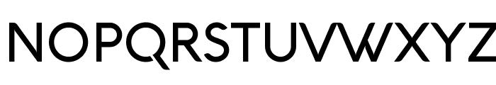 Aquawax Medium Font UPPERCASE