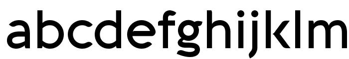 Aquawax Medium Font LOWERCASE