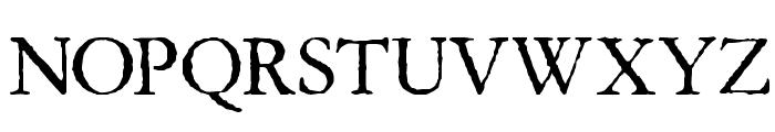 Aquifer Font UPPERCASE