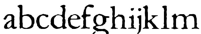 Aquifer Font LOWERCASE