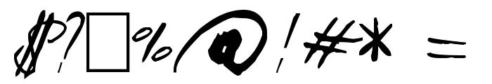 Aquila Cs Font OTHER CHARS