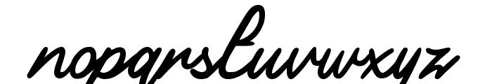 Aquila Regular Font LOWERCASE