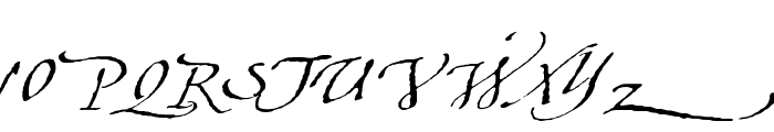 Aquiline Font UPPERCASE