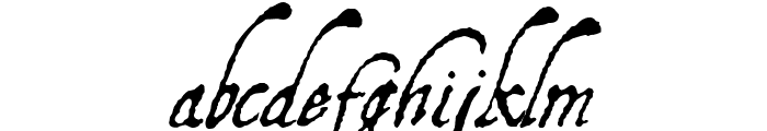 AquilineTwo Font LOWERCASE