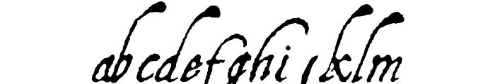 Aquiline Font LOWERCASE