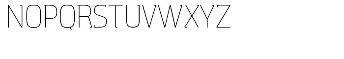 Aquarius Light Font UPPERCASE