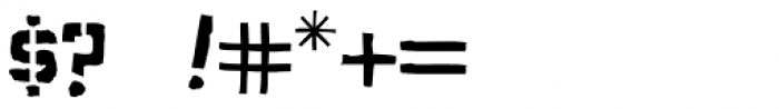 Aquacia Font OTHER CHARS
