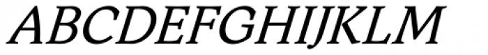 Aquarel DemiBold Italic Font UPPERCASE