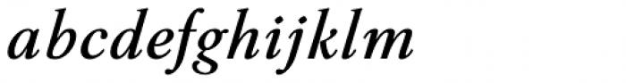 Aquarel DemiBold Italic Font LOWERCASE
