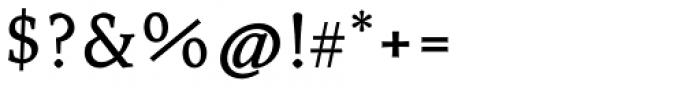 Aquarel DemiBold Font OTHER CHARS
