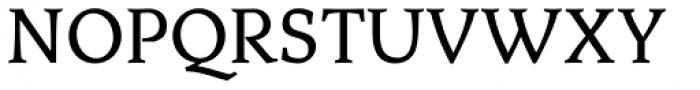 Aquarel DemiBold Font UPPERCASE