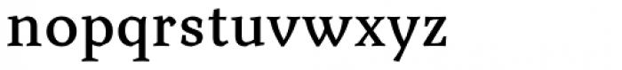 Aquarel DemiBold Font LOWERCASE