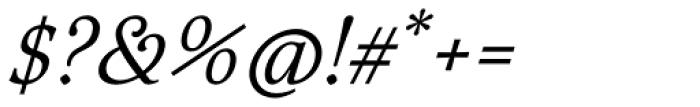 Aquarel Italic Font OTHER CHARS
