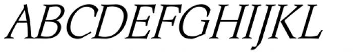 Aquarel Italic Font UPPERCASE