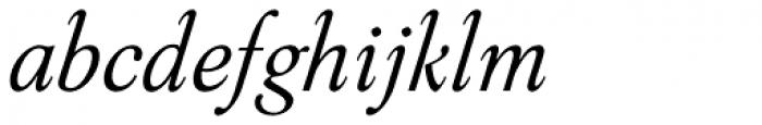 Aquarel Italic Font LOWERCASE
